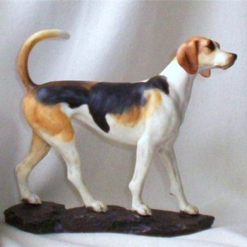 Trailhound figurine by Ann Shambrook